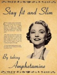 amphetamine ad for weight loss