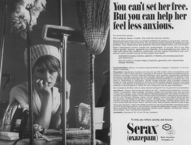 ad for benzo towards women